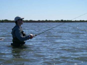 The keys to finding fish along the texas coast for Saltwater wade fishing gear