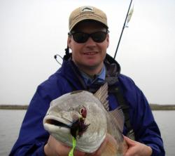 Redfish on Flats Bugg CT